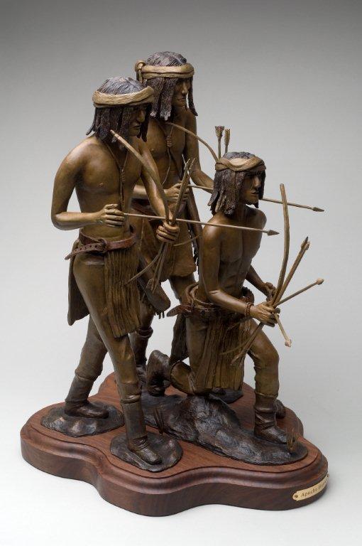 custom statue wooden base